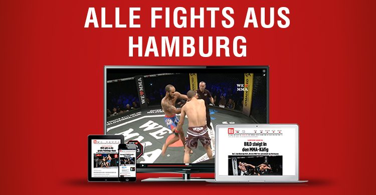 ALLE FIGHTS AUS HAMBURG 19.10.2019
