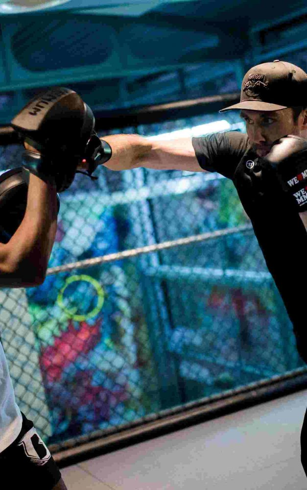 EHC RED BULL MÜNCHEN meets WE LOVE MMA